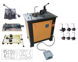 EL-DW16D Wrought iron scroll bending machine for sale