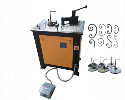 EL-DW16E Wrought iron scroll bender for sale