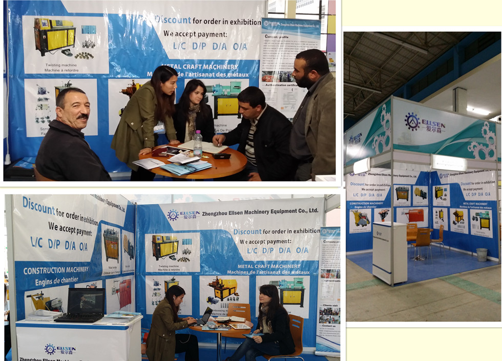 Clients on Algeria Exhibition