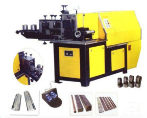 EL-DL100B Cold rolling wrought iron embossing machine