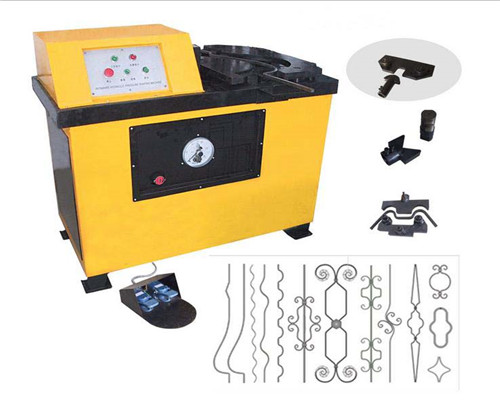 EL-DY16A Wrought iron hydraulic bending machine for sale