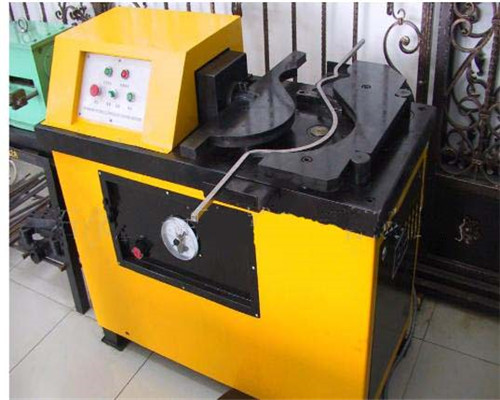 Wrought iron hydraulic scroll machine in our factory