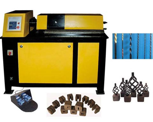 EL-DN25D Wrought iron metal twisting machine for sale