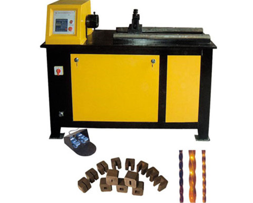 EL-DN25C Wrought iron metal twisting machine